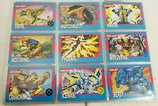1992 Marvel X-Men Series 1 Trading Cards COMPLETE BASE SET #1-100 Jim Lee Impel
