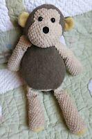 Scentsy Mollie Monkey Tan Biege Stuffed Toy w Corduroy No Scent Pack EUC