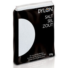 500g DYLON SALT FOR USE WITH HAND DYE OR MACHINE FABRIC CLOTHES DIES FIXING DYES