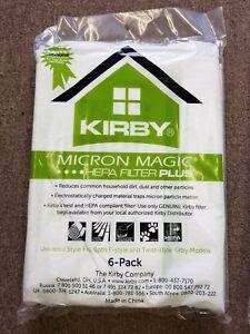 MICROALLERGEN PLUS KIRBY VACUUM CLEANER AVALIR HEPA PINK PACK WHITE FILTER BAGS