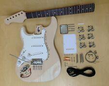 Left-handed Complete Electric Guitar DIY Kit,Loaded Pick Guard 200DIYLH