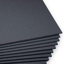 A3 Black 5mm Foamboard 420mm x 297mm pack of 12.