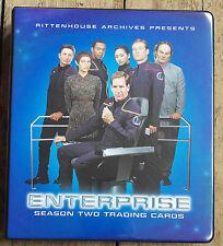 Star Trek Enterprise Season Two/2 Binder/Album