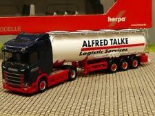 1/87 Herpa Scania CR 20 ND Chemietank-Sattelzug Alfred Talke 310383