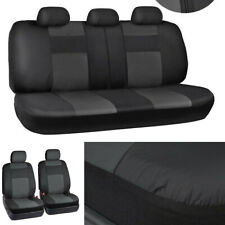 9PCS PU Leather Car Seat Cover Full Set Fit for Auto Seats From Wear Automobiles