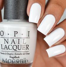 OPI - Alpine Snow - L00 White Cream Creme Nail Polish Lacquer 15ml