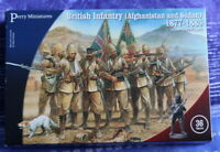 British Infantry Afghanistan/Sudan 1877-85 28mm figures x36 Perry Miniatures