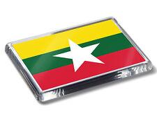 Myanmar Burma Drapeau National Couleurs Haute Qualité AIMANT de Réfrigérateur
