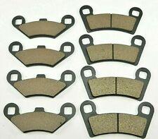 NEW FOR Polaris Razor RZR 800, RZR 800 S & RZR 570 Front & Rear Brake Pads
