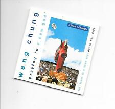 "WANG CHUNG - Praying to a new god 3""Inch CD SINGLE 3TR 1989 (GEFFEN)"