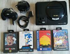 SEGA Mega Drive 1 Spielekonsole (PAL) mit 4 OVP Spielen