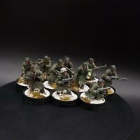 Pro Painted 28mm Bolt Action German Winter Infantry ×10 Squad #3 ww2