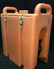 Cambro Orange Insulated Beverage Carrier 250lcd 25 Gallon Capacity Our 1w