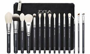 Zoeva Luxe Complete Set 15 Brushes + Clutch