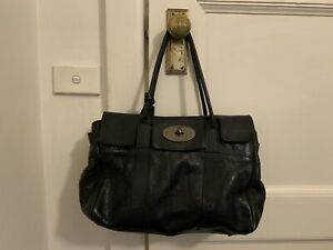 Authentic Mulberry Bayswater Handbag, Leather, Large Size
