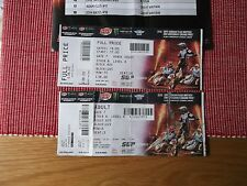 speedway sgp 2 tickets (used) principality stadium cardiff 22nd july 2017 (1).