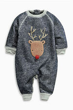 ••• ВNWT NEXT Babygrows Playsuits • Reindeer Romper • 100% cotton • 6-9 Months