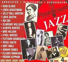 Paramount Jazz [Box] by Various Artists (CD, 2009, 4 Discs, JSP (UK))