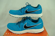"""New Womens 11.5 NIKE """"LunarFly 3"""" Blue White Dynamic Support Run Shoes $85"""