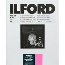 "Ilford 8 x 10"" Multigrade IV RC DLX Black & White Paper 100 Shts Glossy, 17"