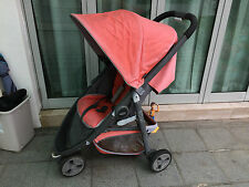 GRACO Evo Mini Stroller - Grenadine color (used, for pickup)