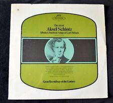 THE ART OF ASKEL SCHIOTZ ALBUM 1 FOURTEEN SONGS OF CARL NIELSEN SEALED MONO LP