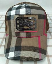 Burberry Brown Adjustable Baseball Hat Unisex Cap