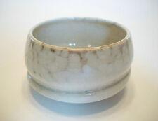 PAULA MURRAY - Glazed Wheel Thrown Sculptural Porcelain Bowl - Canada - C. 1997