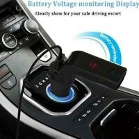Bluetooth Car Kit Handsfree FM Transmitter Radio MP3 new Charger Player V7I9