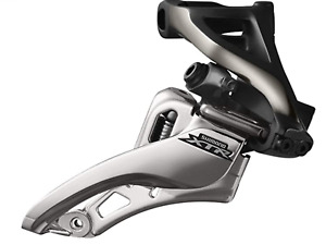 Shimano XTR FD-M9020-H Double Front Derailleur Side Swing Side Pull High Clamp