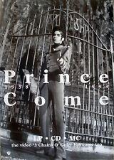 VERY RARE PRINCE COME 1993 VINTAGE ORIGINAL MUSIC RECORD STORE PROMO POSTER