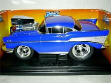 57 CHEVY RARE DARK BLUE LIMITED ED,5,800 PCS MIB  1:18