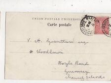 Mr V A Grantham Woodlawn Doyle Road Guernsey 1904 909a