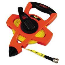 Lufkin Engineer Hi-Viz Fiberglass Measuring Tape, 1/2