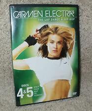 "CARMEN ELECTRA ""The Lap Dance"" and ""Hip Hop"" WORKOUT  -  DVD"