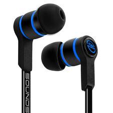 SOUNDSTERS S18 - Extrem leichte In-Ear Kopfhörer für alle Mobilgeräte - Schwarz