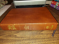 Bible New Analytical Study Edition 1970 Leather KJV Crusade