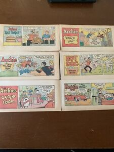 1970 Archie comic books lot, promo with chips. (HighGade) New old stock!!!