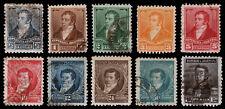Argentina Scott 106-112, 114, 116, 119 (1896-97) Used/Mint H F-Vf, Cv $20.15