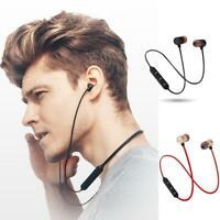 Magnetic Headphones In-Ear Bluetooth Stereo-Earphones Headsets Wireless Earbuds