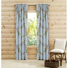 "Realtree Camo Curtain Panels, Blue Camo Design, 2 Panels 40"" x 84"" Each - NEW"