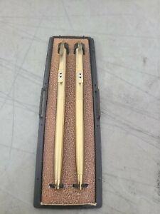 VINTAGE PAPER MATE PEN/PENCIL CLASSIC SET GOLD SET