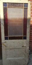 Victorian Stained Glass Door