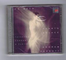 CD (NEW) J.S.BACH HEART'S SOLACE ANDREW PARROTT (TAVERNER CONSORT)