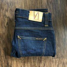 Nudie Jeans Grim Tim Dry Navy W31 L30 Men's