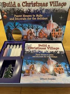 Build A Christmas Village Craft Set. Brand New