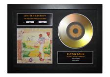 More details for elton john signed gold disc album ltd edition framed picture memorabilia