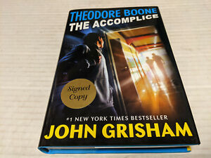 The Accomplice by John Grisham (2019, Hardcover) SIGNED 1st/1st