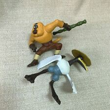 Kung Fu Panda McDonalds Happy Meal Toys 2011 Master Crane and Monkey Loose