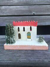 Vintage Christmas Putz House